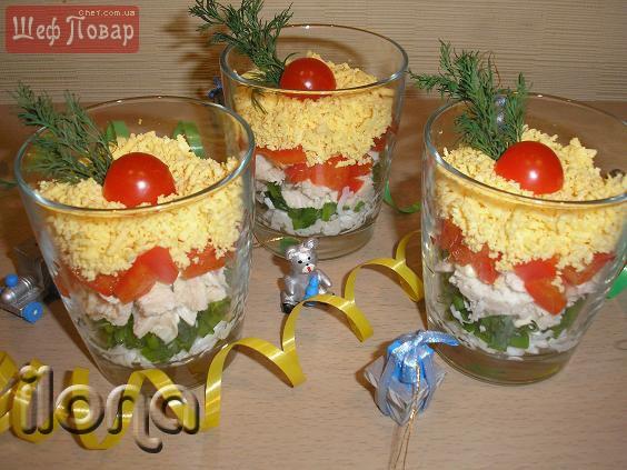 Кулинария салаты простые