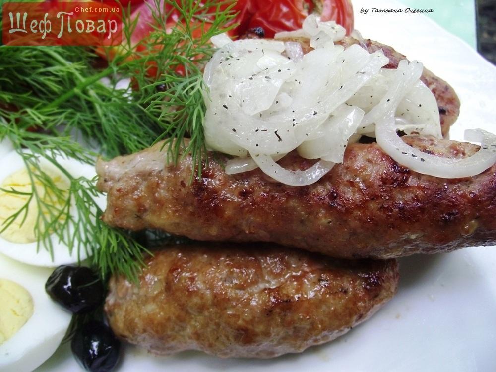 люля-кебаб на мангале из фарша рецепт с фото