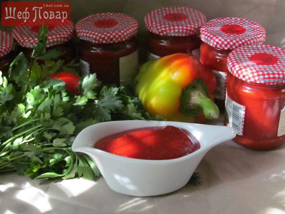 Рецепты кетчупа для консервации