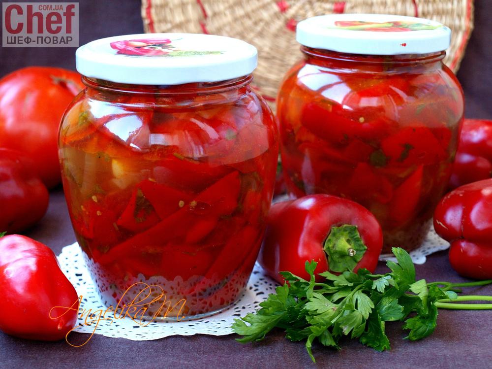 лечо с помидорами и перцем видео