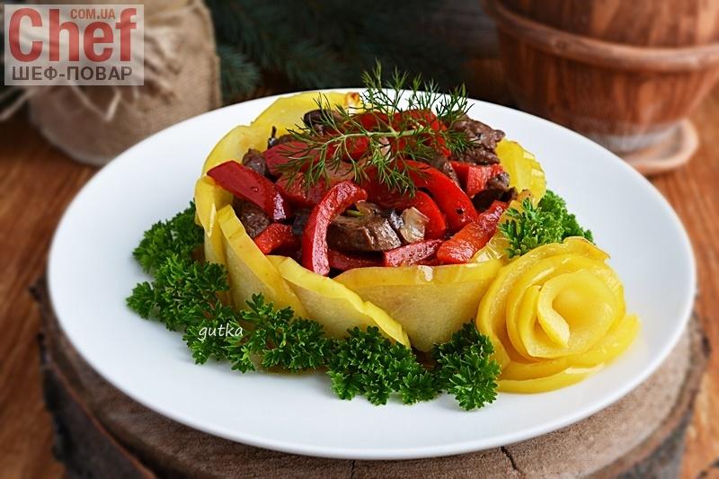 простые салаты с куриной печенью рецепты с фото