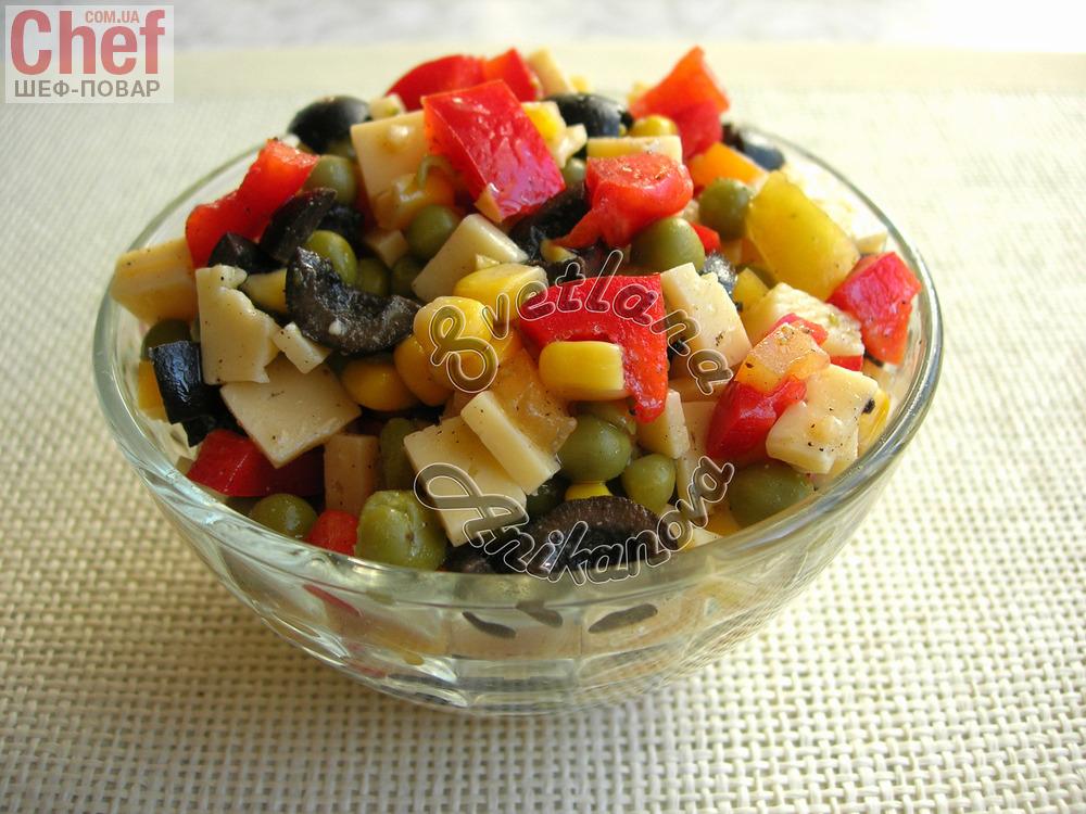 Новогодние простые рецепты салатов