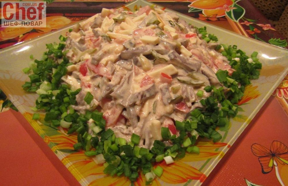 Рецепты салатов с овощами простых